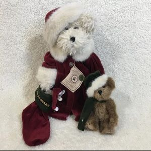Boyds Bears Tasha B Frostberry Christmas Bear